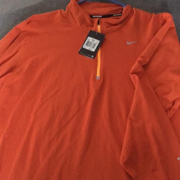59cb2583 Nike Shirts | Brand New Mens Breathe Quarterzip Top | Poshmark